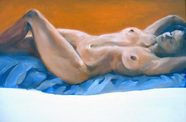 'Reclining Nude' by Marlene Dickerson