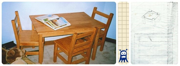 how to make a small table out of wood