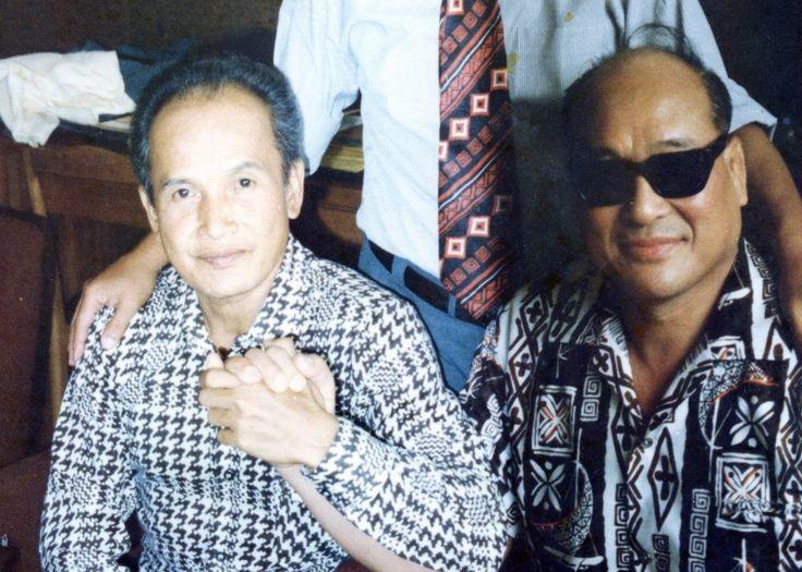 Suhu Subur Rahardja et Mas Oyama (founder of Kyokushin Karate)