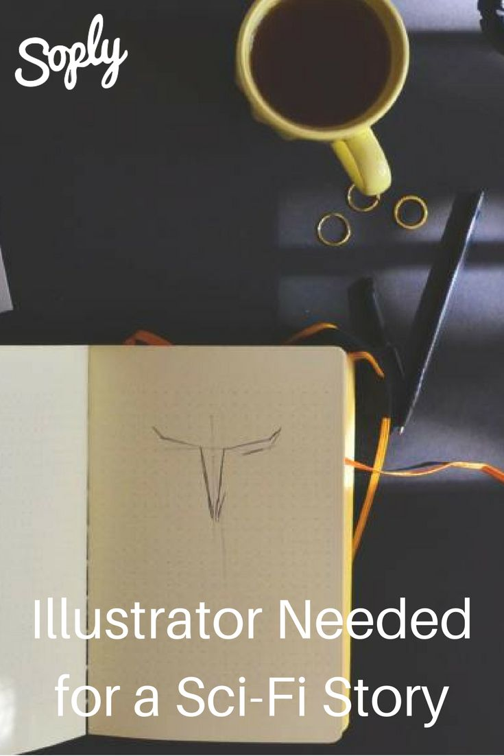 #Illustrator needed for a sci-fi #story about #aliens. See the #job and speak to the #client through the pin!