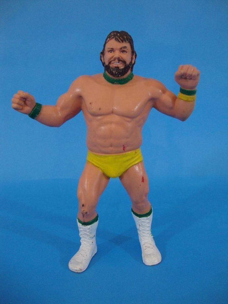 1987 LJN Titan WWF WWE Billy Jack Haynes Rubber Wrestling Action Figure  #LJN