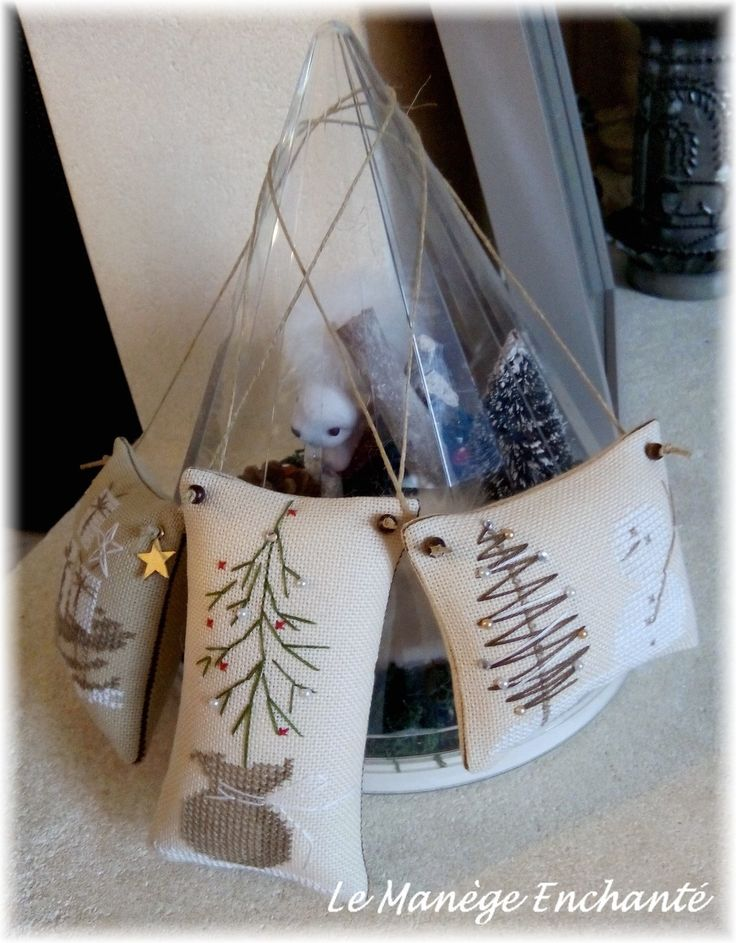 """Quelques """"pendouilles"""" de Noël ..."""