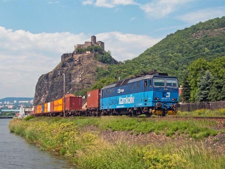 Czech Republic - Freight train ČDC 163 023-5 / UstinadLabemhlavninadrazi — Trainspo