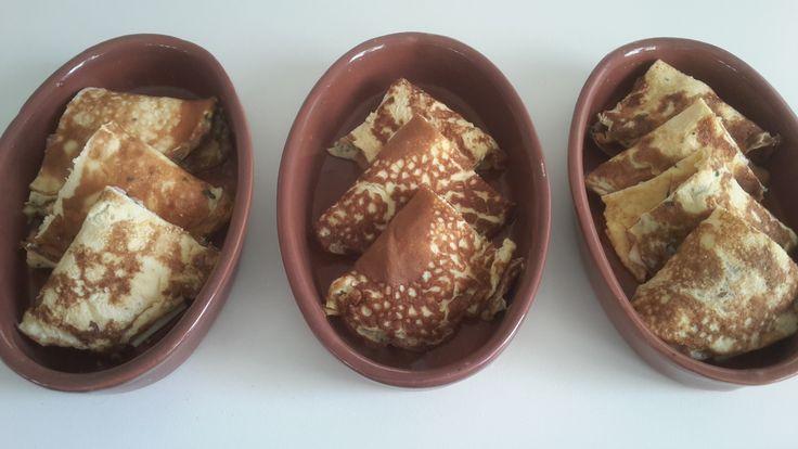 Fazzoletti di frittata