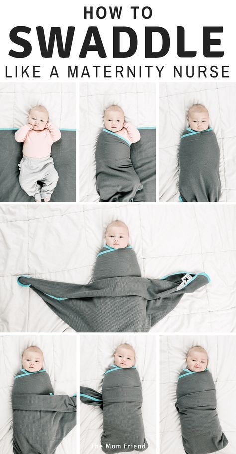 The way to Swaddle a Child (Two Methods): A Visible Tutorial