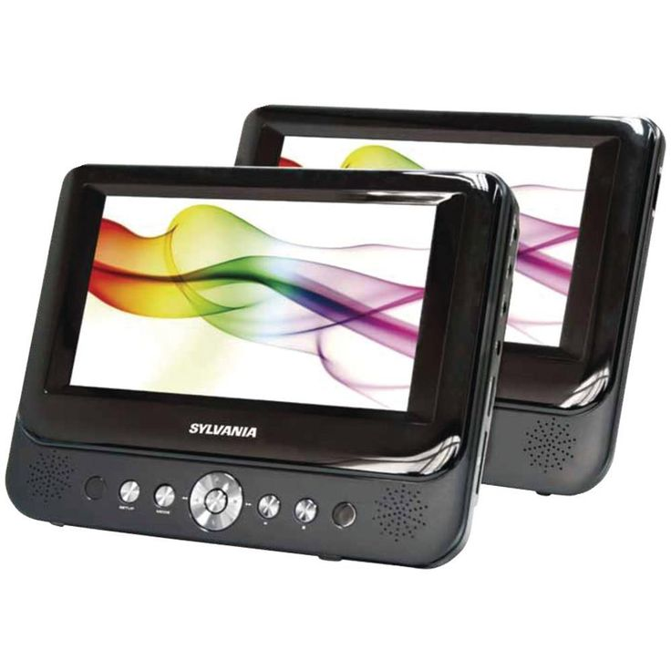 SYLVANIA SDVD9957 9 Dual-Screen Portable DVD Player