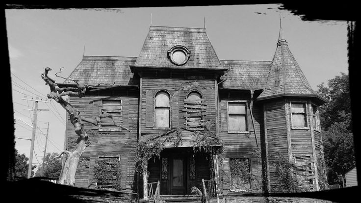 Haunted House constructed for IT remake