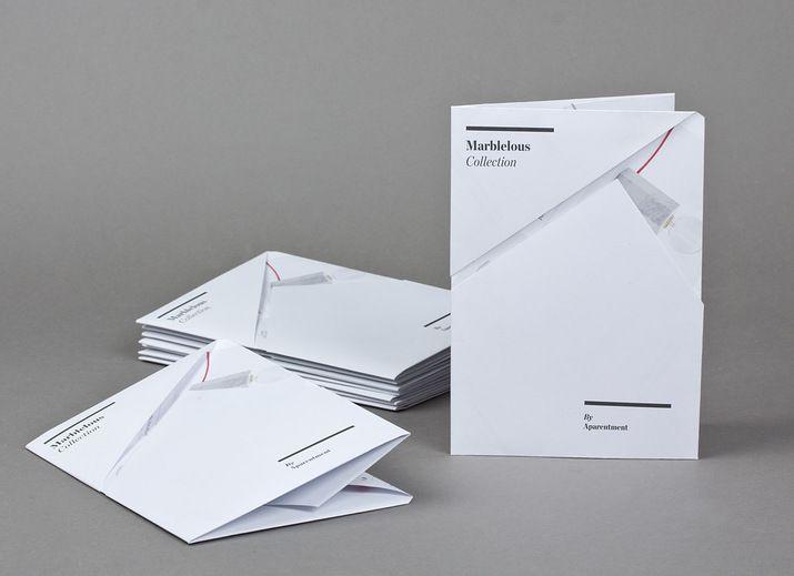 Leaflet design for APARENTMENT (Print) by Lo Siento Studio, Barcelona