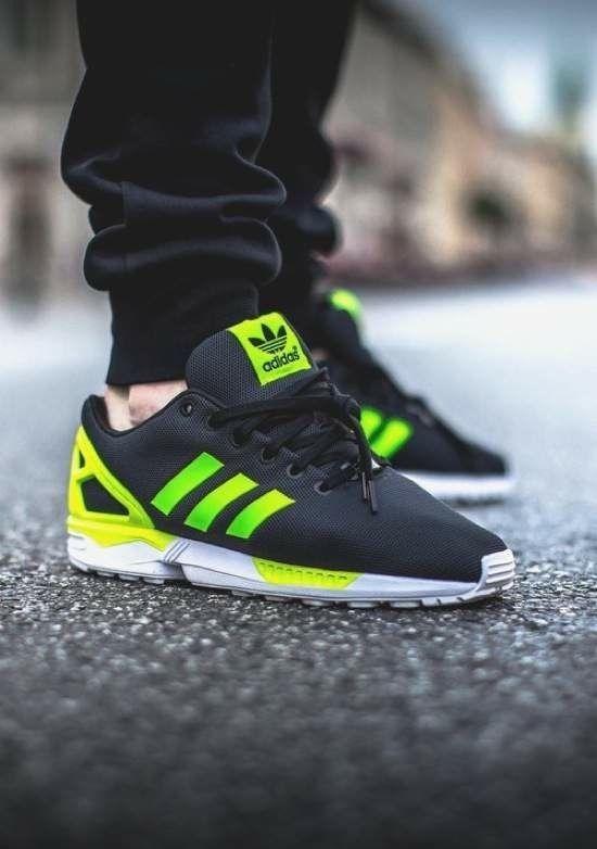 Adidas Zx Flux Dark Green