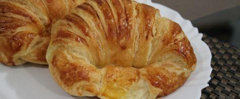 Foto - Receita de Croissant folheado