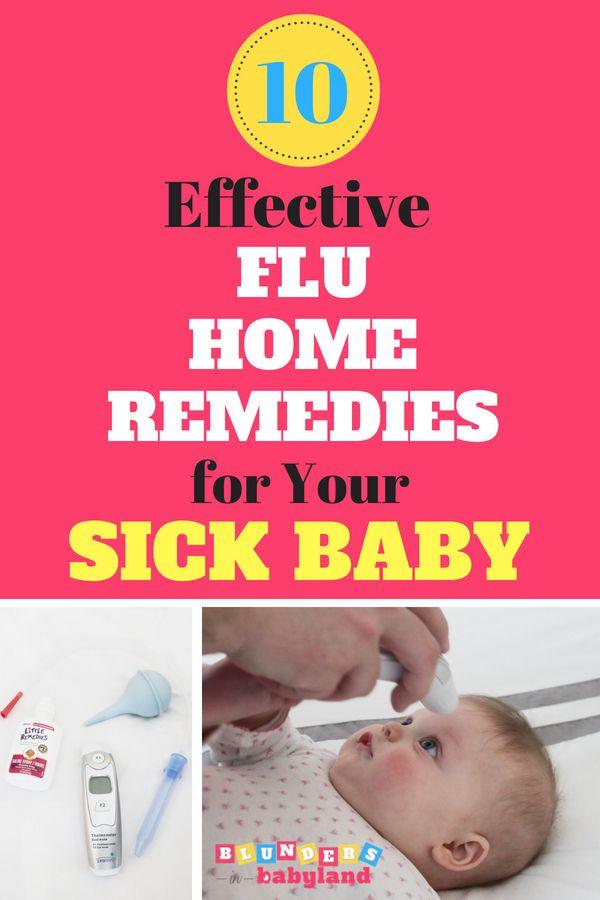 Flu remedies in babies