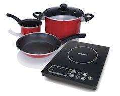 Capri Induction Cooker Pot Set