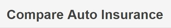 Compare Auto Insurance Rates; Get Free Quotes Online Now