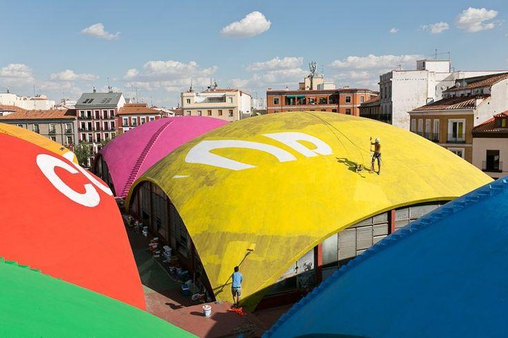 Mercado de la Cebada, Madrid, 2013
