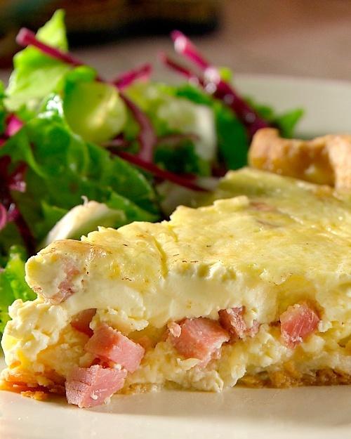 Ham Quiche - Martha Stewart Recipes