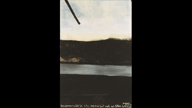 tomorrow will be the same but not as this is by colin mccahon