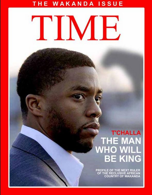 Meet the Marvel fan energizing Black Panther fans with his fake magazine covers