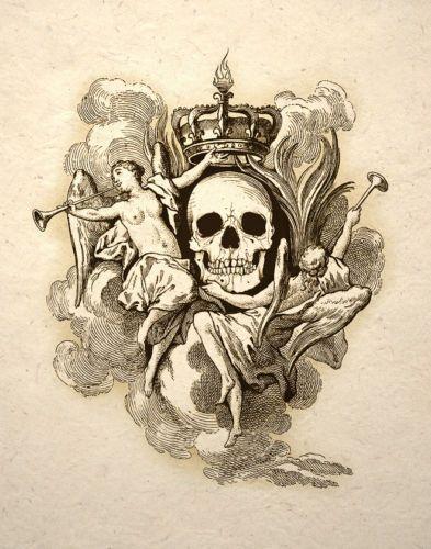 Skull-Crown-By-Angels-Gothic-Macabre-Art-Print-Memento-Mori