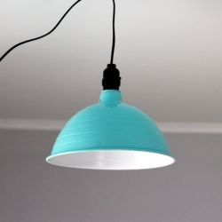 An easy and affordable way to make your own industrial light.