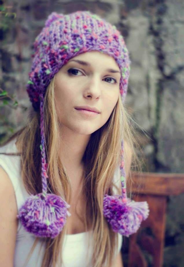 Gorritos de lana tejidos a mano ♥