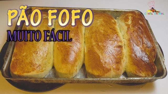 1793 - PÃO FOFO, FÁCIL E CASEIRO (Delicioso e super barato!!!)