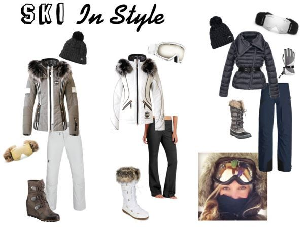 Women's Skiing Oufits. Stylish looks for the mountain to the lodge. #Sundance #DivineStyle | Ski In Style | http://www.divinestyle.co/ski-in-style/