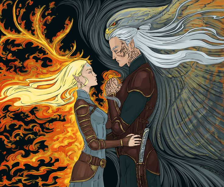 """Carranam (""""Throne of Glass"""" by @sjmaas) Yup, the illustration I did for Target limited edition of """"Empire of Storms"""" by Phantomrin"""
