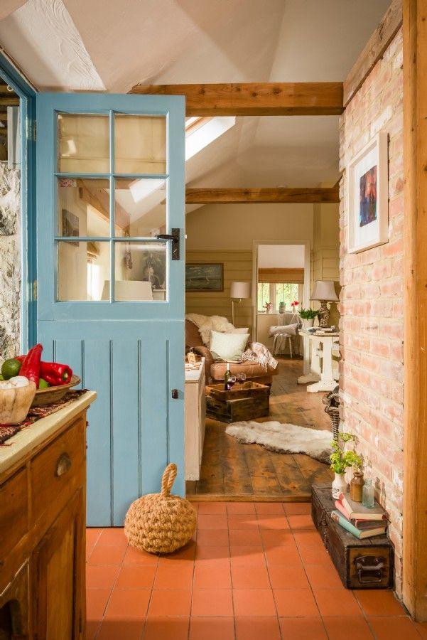 """Shabby and Charme: Stile """"Rustic Chic"""" per un fantastico cottage in C..."""