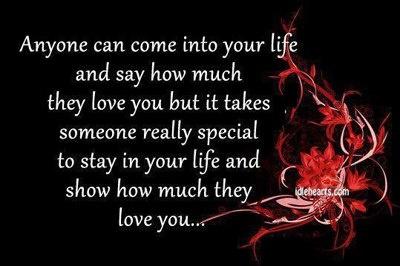 Anyone vs Someone Special
