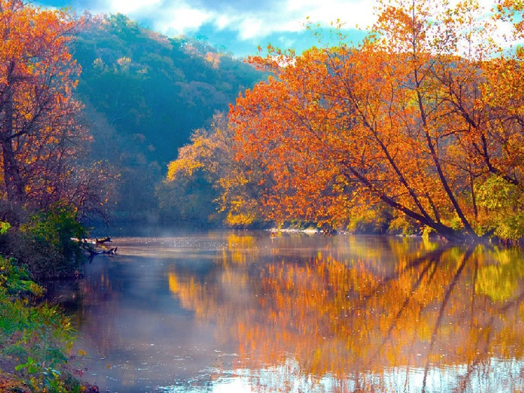 Hd Wallpaper Fall Leaves Cuyahoga River Ohio Was Born In Oh Still A Lovely