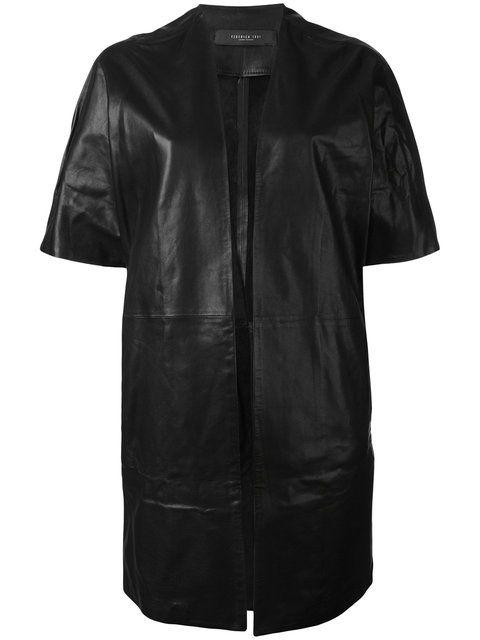 Shop Federica Tosi short-sleeve jacket .