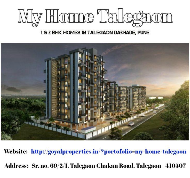 My Home Talegaon - 1 & 2 Bhk Homes in Talegaon Dabhade, Pune
