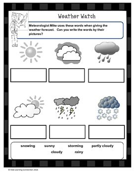 Meteorologist Mike introduces  basic terminology used to forecast weather conditions. A great into activity to teach students about changing weather conditions and vocabulary.Find over 160 learning activities at the KidZ Learning Connection store.