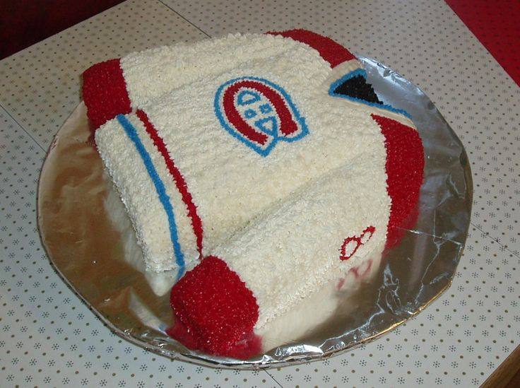 Montreal Canadians Hockey Team Jersey - For a Montreal Fan turning 8.