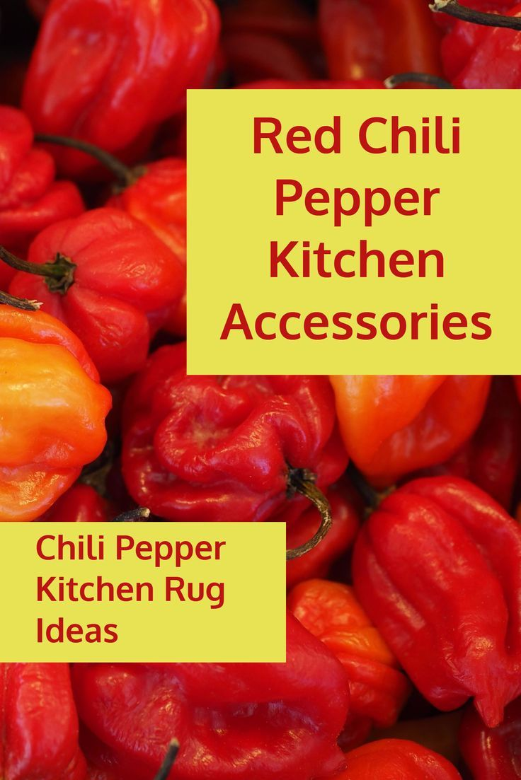 Chili Pepper Kitchen Theme - Home Design Architecture
