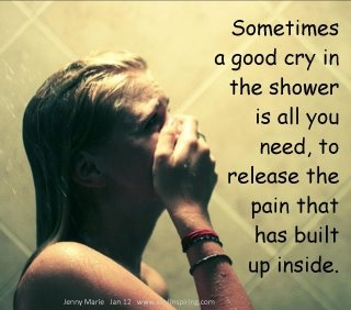 A GOOD CRY, everyone needs one now and then