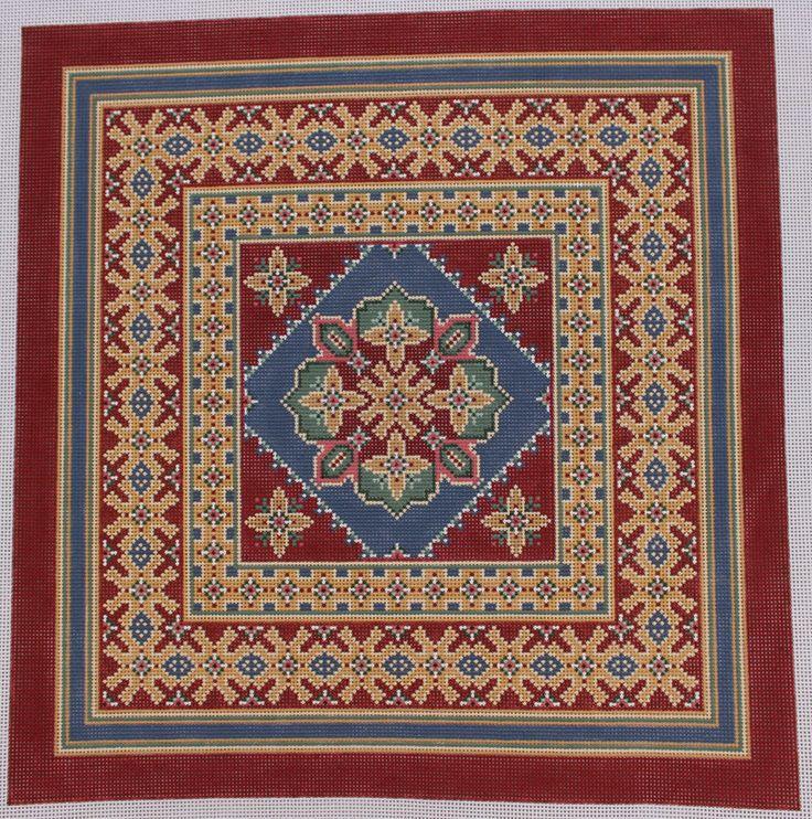 Canvasworks marakesha po34a pintados à mão Lona bordado in Artesanato, Fios e materiais para costura, bordados, tricô e crochê, Bordado a meio-ponto e telas de plástico | eBay