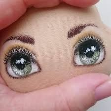Image result for add nose to a cloth doll face