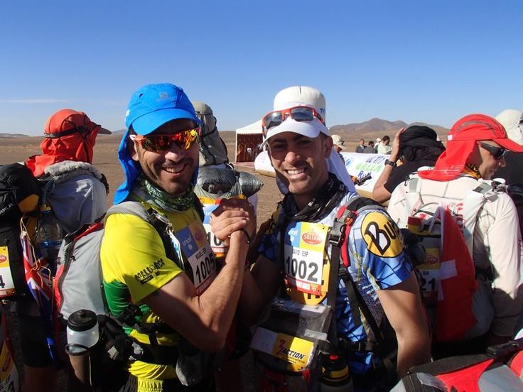 Nuestro amigo DVD finisher del maraton de Sables. No hemos estado allí, pero www.3actionshop.es le ha acompañado en todo el camino. ENHORABUENA!!!