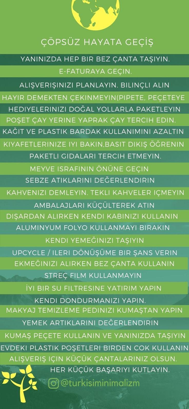 Türk İşi Minimalizm: Çöpsüz Hayata Giriş: 4. Hafta Özeti  | zero waste | zero waste swaps | çöpsüz hayat | sıfır cop