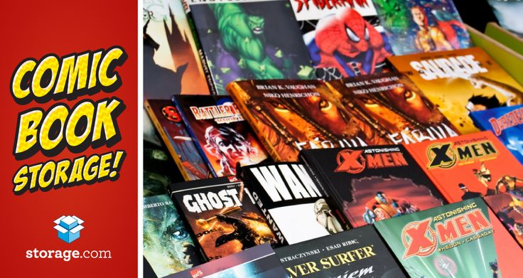 Using Climate Control for Comic Book Storage - Keep your valuable comic book collection preserved by keeping it in a climate-controlled storage unit.