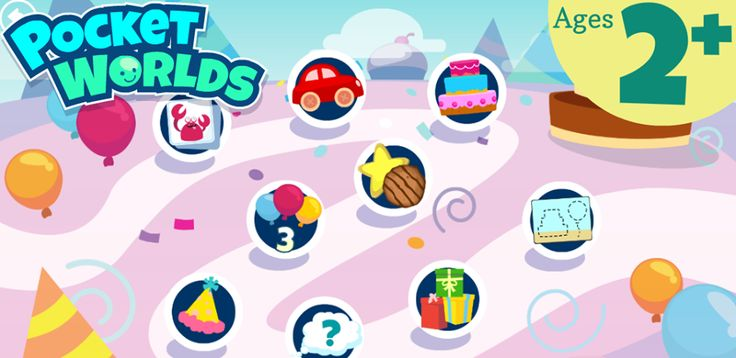 Fun educational game for kids!  Pocket Worlds!Artwork from this game is great!