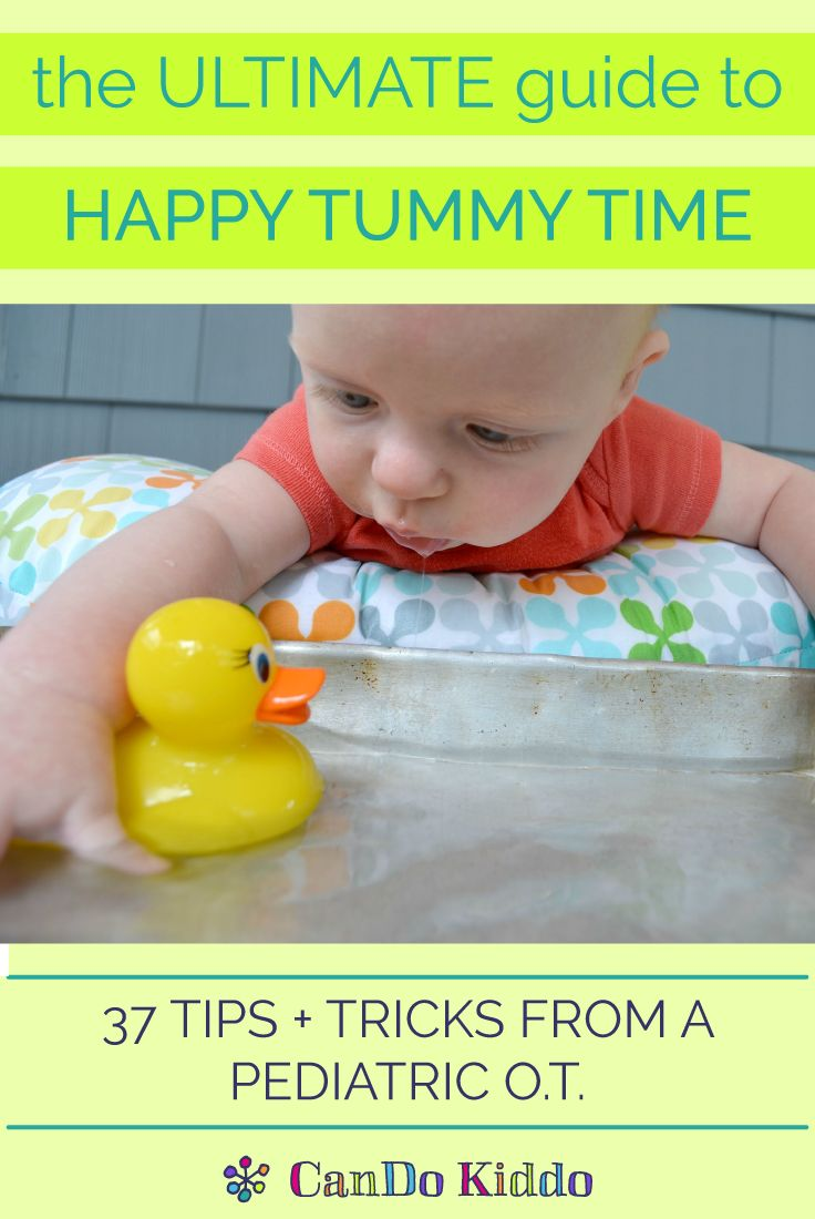 Tummy Time feeling anything but fun? Try these tips and activities to help your little one enjoy belly-down playtimes. CanDoKiddo.com