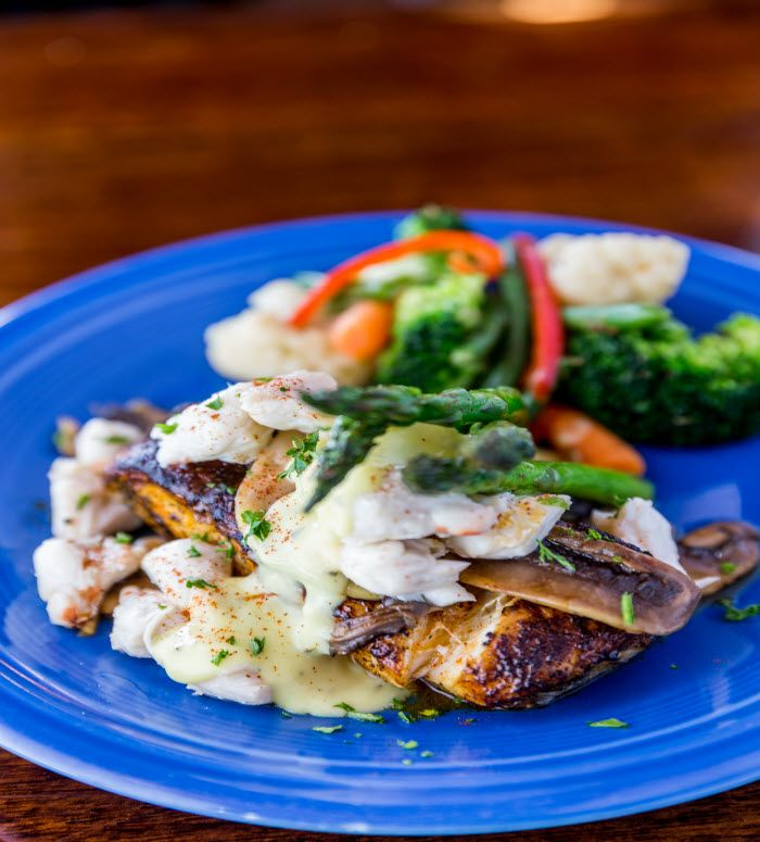 Recipe Grouper Topped With Jumbo Lump Crab Meat Drunken Jacks Murrells Inlet
