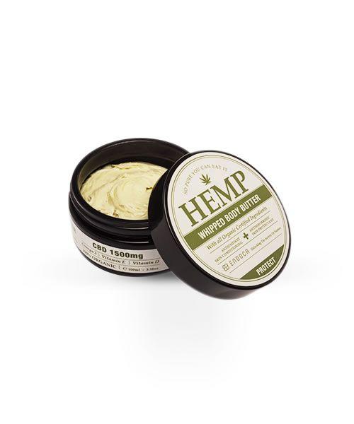 Crema burro di Canapa per il corpo (1500mg CBD)