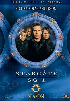 SG-1 season 1   starring the fab four ... Richard Dean Anderson, Amanda Tapping, Michael Shanks and Christopher Judge.Stargate Sg 1, Worth Watches, 1St Seasons, Sg1 Wallpapers, Videos Dvd, Finish Watches, Watches Seasons, Stargate Sg1, Sg 1 Seasons