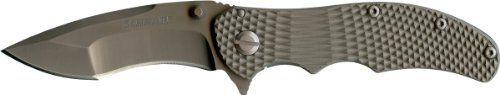 Schrade SCH601Ti Frame Lock Folding Knife with Titanium Handle