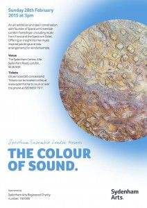 The Colour of Sound | Sydenham Arts