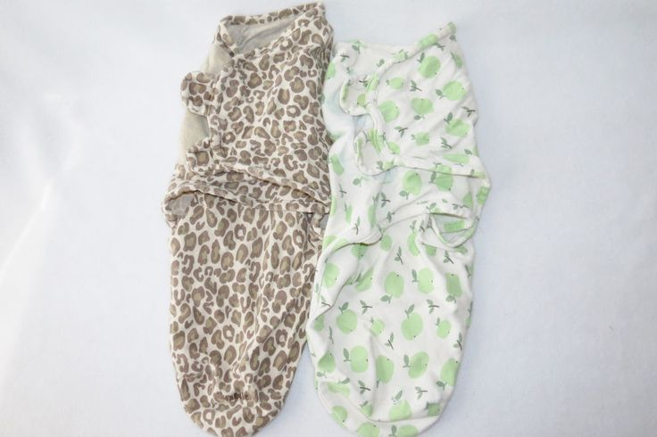 Baby Girls Summer Lot 2 Cheetah Apple Swaddle Swaddling SwaddleMe Blanket 0-3m #SummerInfant