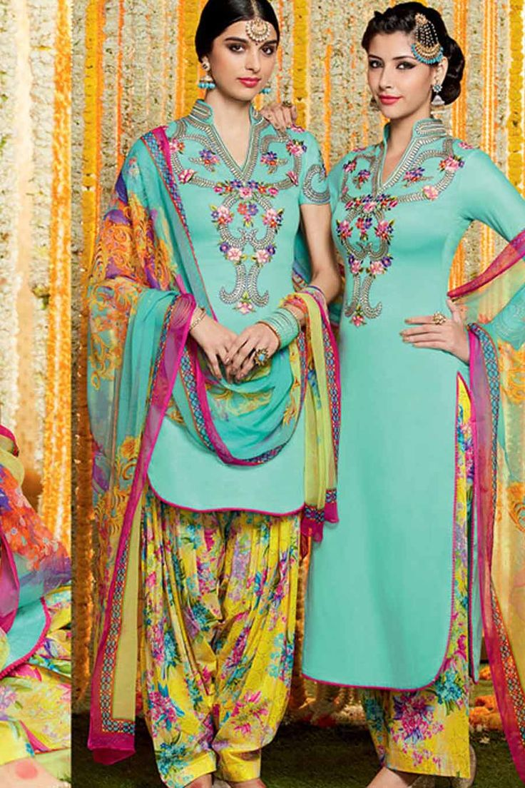 228 best Punjabi Suits images on Pinterest | Indian outfits, Indian ...
